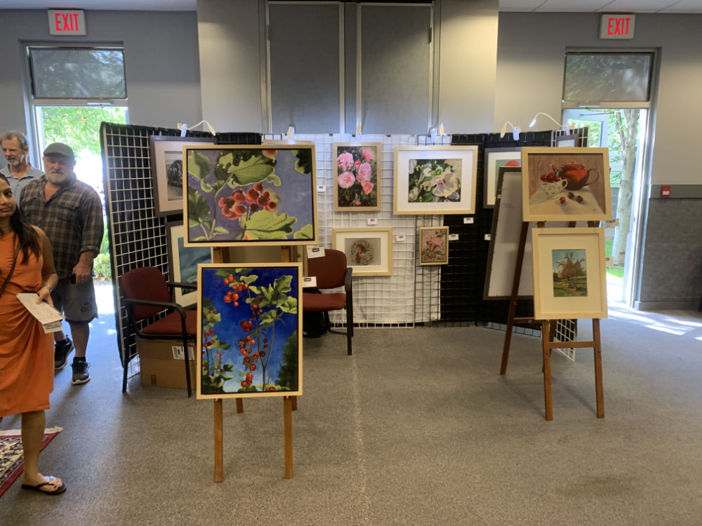 Izabela Bogdanovic at Lake Country Art Walk 2019
