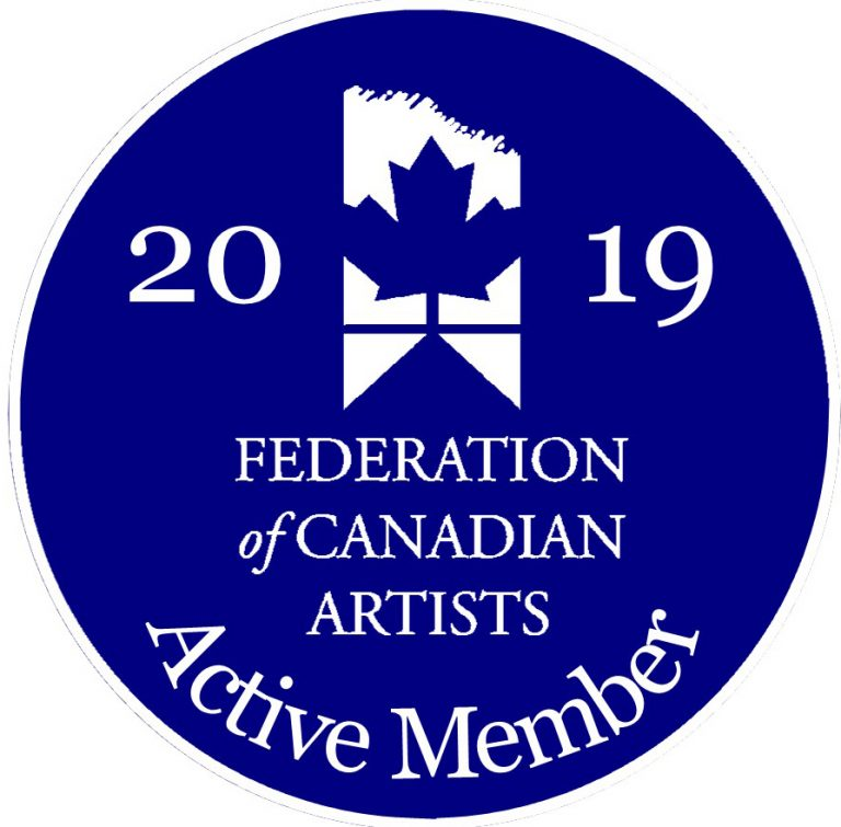 Izabela Bogdanovic became Active member of Federation of Canadian Artists in October 2019